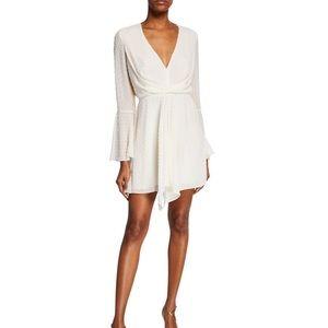 Jay Godfrey dotted Dottie white dress Size 4 NWT